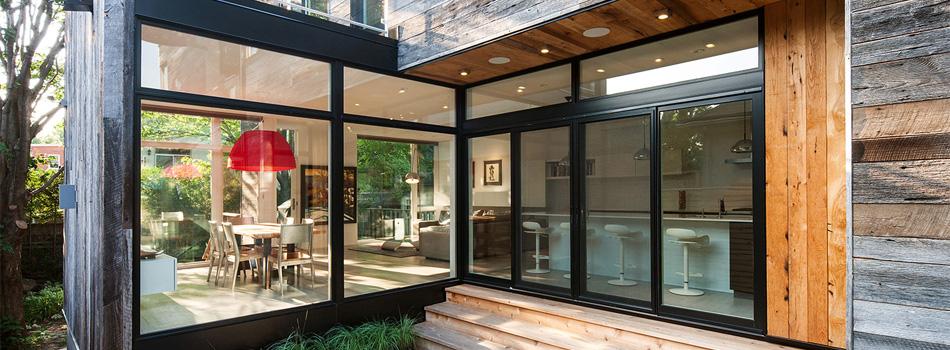 Sliding door concepts to open up living spaces seiffert for Marvin scenic doors
