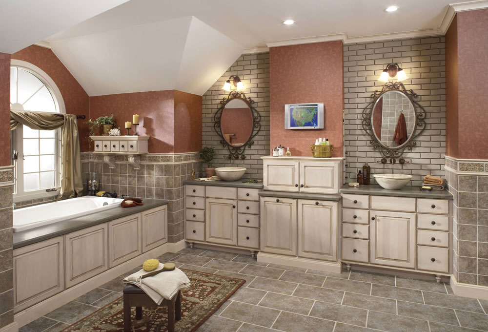 merillat classic somerton hill maple oatmeal desert glaze - Bathroom Design Ideas White Cabinets