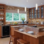 Bertch Quincy Cherry Natural3 Cabinets