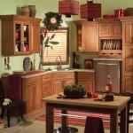 Bertch StThomas cherry tundra Cabinets