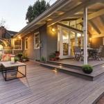 TimberTech Deck Legacy Ash Wood