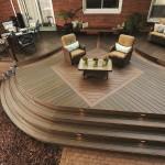 TimberTech Deck Legacy Mocha Pecan Accents Kona Aluminum