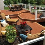 TimberTech Deck Radiance Rail Metal Earthwood