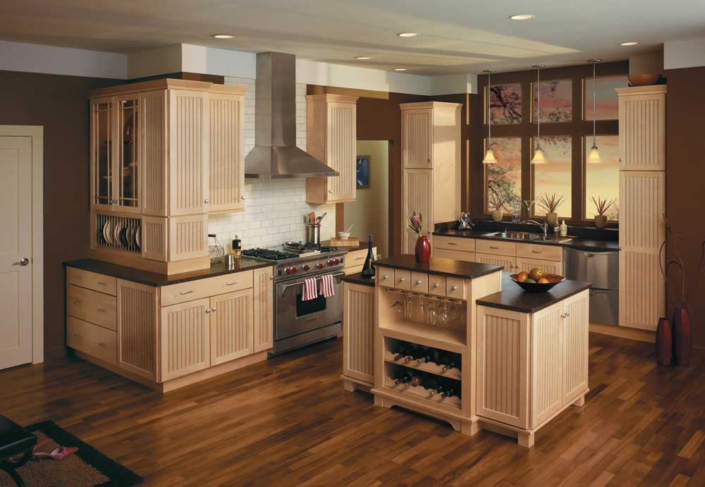 ... Merillat Classic Avenue Maple Natural Cabinets ...