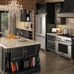 Merillat Classic Bayville Kitchen Maple Dusk Cabinets