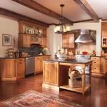 Merillat Classic Somerton Hill Cherry Amaretto Java Glaze Cabinets