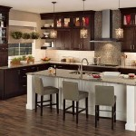 Merillat Classic Tolani Oak Kitchen Cannonsburg Maple Island Cabinets