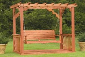 Cedar Wood Swing