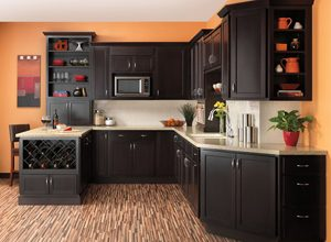 Dark Kitchen Cabinets