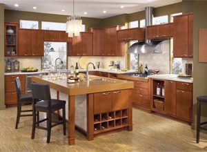 Simple Maple Kitchen Cabinets