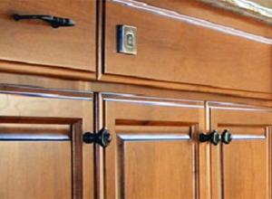 Dark Kitchen Cabinet Hardware