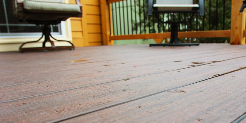Seasonal Deck Maintenance
