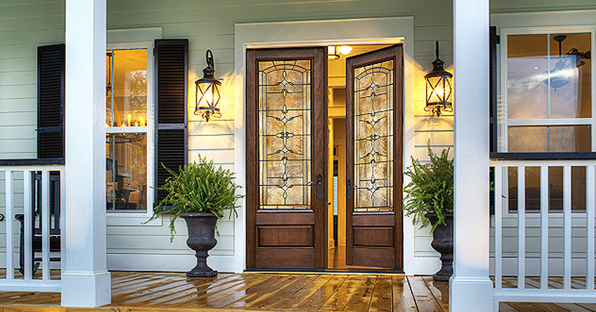 Right Entry Door Material