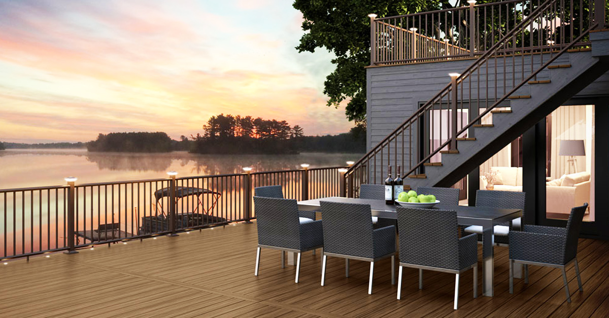 New Decking Material Ideas